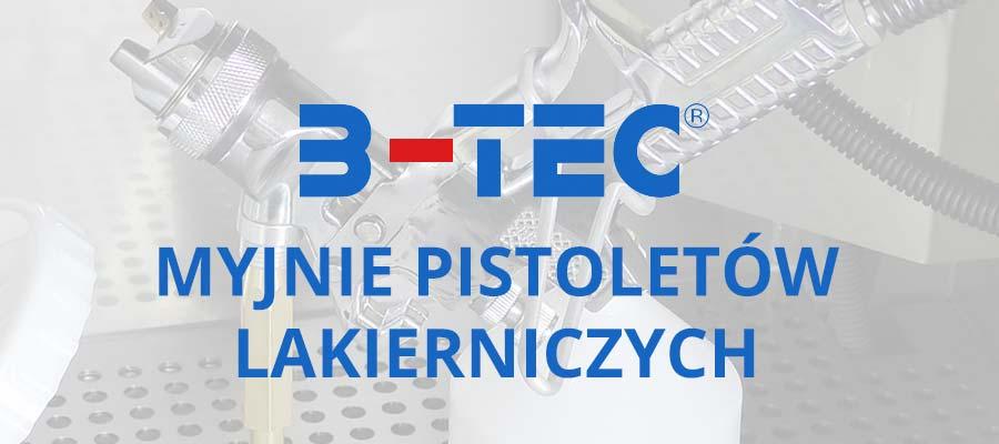 Myjnie pistoletów lakierniczych B-TEC